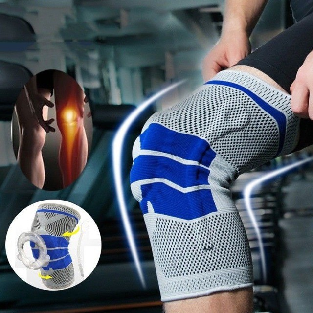 Joelheira de Alta Compressão - tecido 3d - previne lesões - Foto 5