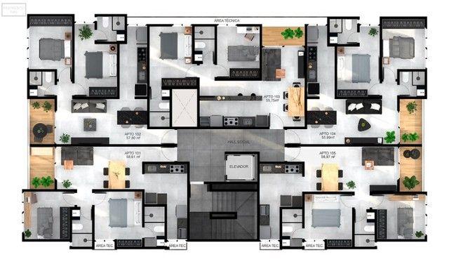 Apartamento no 4º andar em Tambauzinho