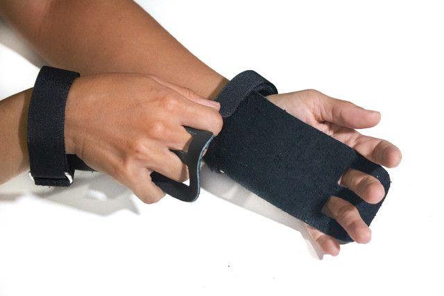 Grip CrossFit de couro reforçado - Foto 2