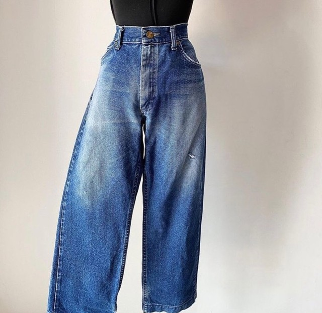 calça mom jeans lee