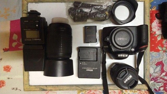 Câmera profissional<br>NIKON d3200 - Foto 4