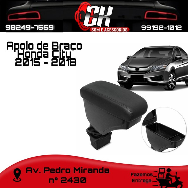 Apoio Encosto Descanço de Braço Honda City 2015 - 2018
