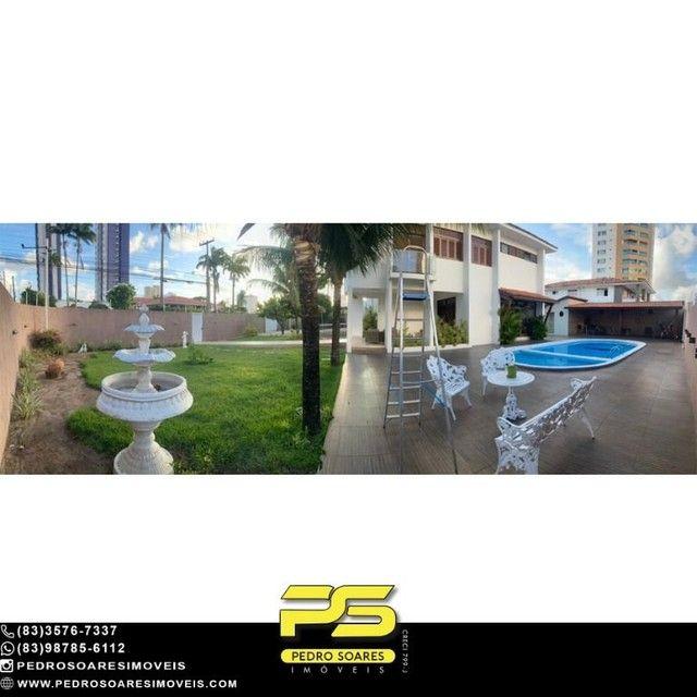 Casa com 5 dormitórios para alugar, 1.120 m² por R$ 16.000/mês - Estados - João Pessoa/PB - Foto 7