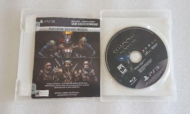 Jogo Shadow of Mordor - PS3 Mídia Física Original (seminovo) - Foto 3