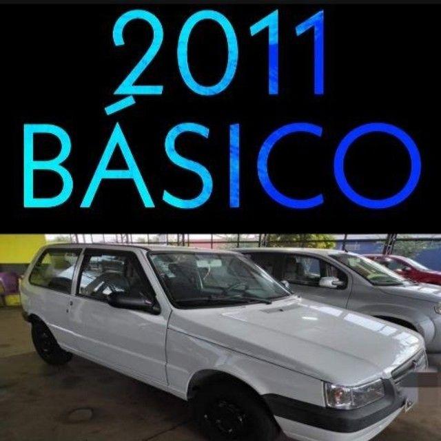 Uno Mille 2011 Basico financia 100% saiba mais * - Foto 2