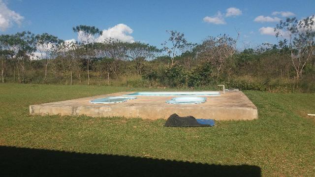 Alugo Sitio: Piscina|Campo Futebol\ Churrasqueira\ Qd. de Voley Ponte Alta - Gama