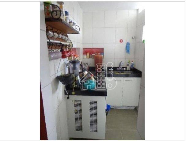 Apartamento com 1 dormitório à venda, 50 m² por R$ 302.100,00 - Icaraí - Niterói/RJ - Foto 9
