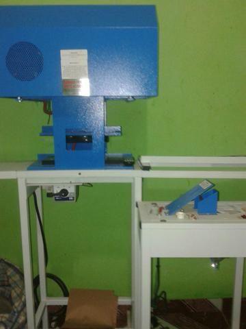 Máquina de Sandália Motorizada da Compacta Print
