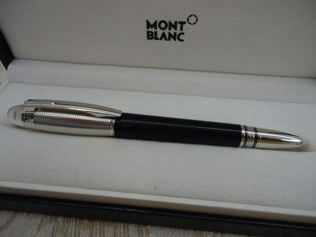 cdf1454a2dd Caneta Montblanc Platinum Doué Guilhoché Starwalker Fineliner  Rollerball Mont  Blanc