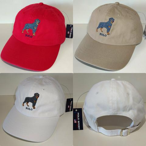 Boné Polo Dog Ralph Lauren Original NOVO
