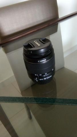 Lente Canon EFS 18 - 55mm