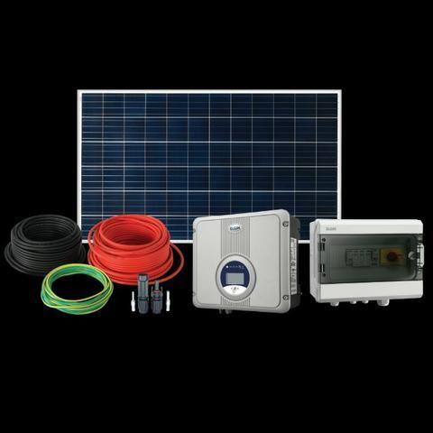 ba3193d1470 Kit Gerador de Energia Solar Fotovoltáica de 1300W - Materiais de ...