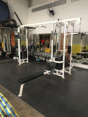 Academia Musculação Life Fitness em ótimo estado