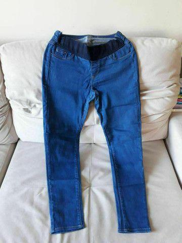 Calças Jeans de Gravida. Tamanho 42,42 e 46 - Foto 2