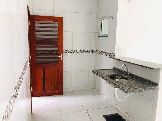 DP casa nova com 2 quartos 2 banheiros a 10 minutos de messejana - Foto 8