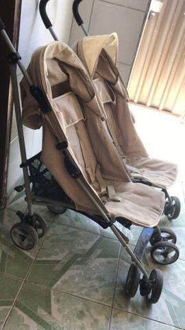 Carrinho de bebê gemeos - Foto 3