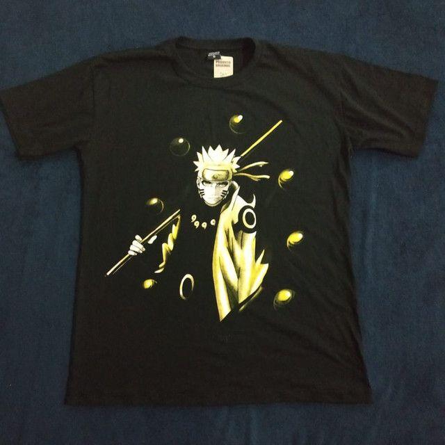 Camisetas de Anime One piece , naruto e one punch - Foto 3