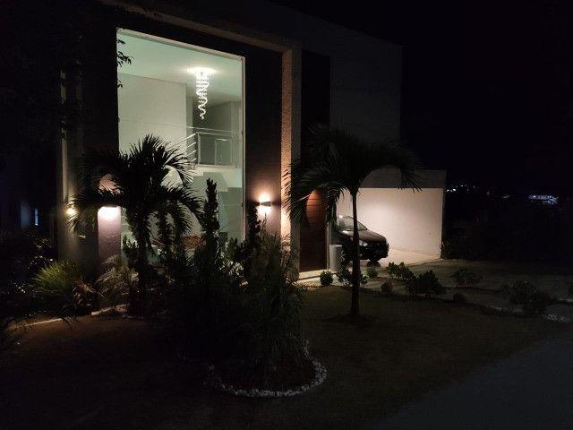 Excelente casa no Alphaville Litoral Norte II - 318 m² - 4/4 sendo 3 suítes - Casa nova - Foto 16