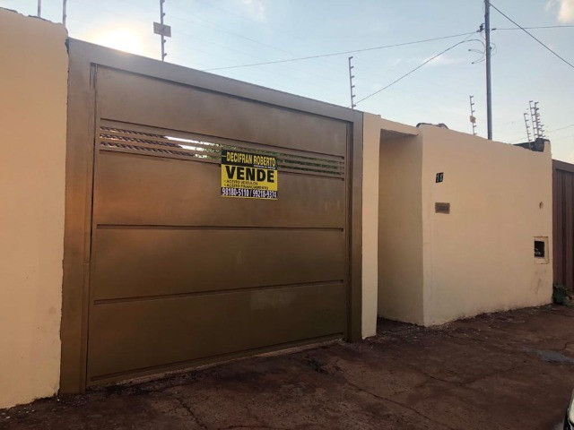 Decifran Roberto Vende Casa Bairro: Bota Fogo