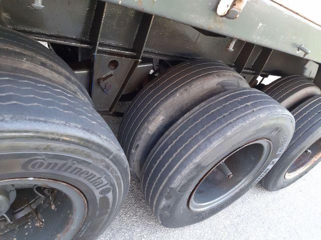 Carreta Reboque Krone S Cot Cabb carga seca com pino de container ANO 1994   - Foto 13