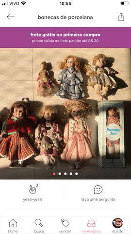 Bonecas de porcelana - Foto 2