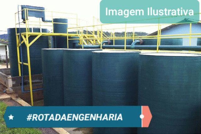 Estação de Tratamento de Esgoto ETE - 90 M3/DIA - Foto 3