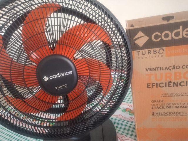 Ventilador turbo novo - Foto 2
