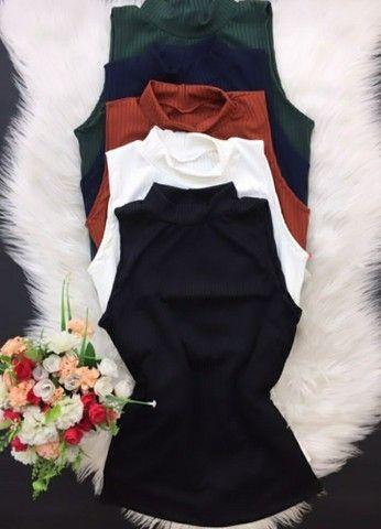 Casaco tricô e blusas - Foto 6