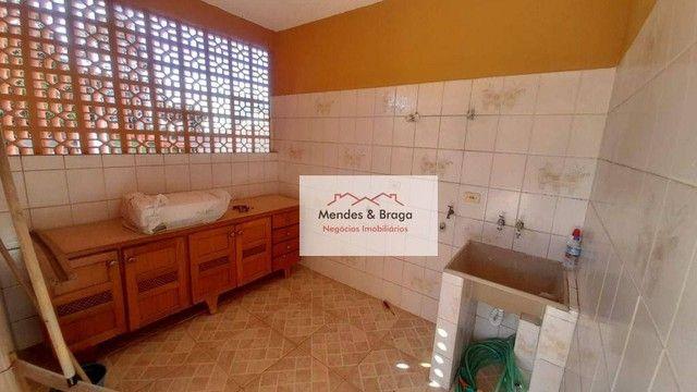 Sobrado com 4 dormitórios para alugar, 160 m² por R$ 2.500,00/mês - Cocaia - Guarulhos/SP - Foto 9