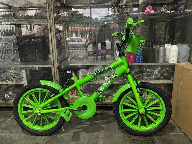 Bicicleta Infantil Incrível Hulk Aro 16 - Foto 4