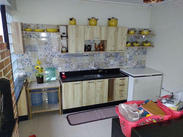 Baixou R$700 mil reais casa com 3 suítes  Castanhal 20x30 o terreno - Foto 12
