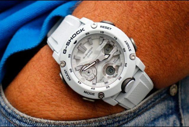 Relógio G-Shock GA-2000S-7ADR Carbon Core Guard nas cores Preto ou Branco<br><br> - Foto 5