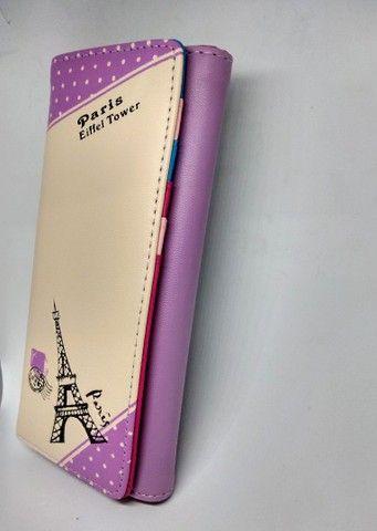 Linda carteira feminina Paris  - Foto 4