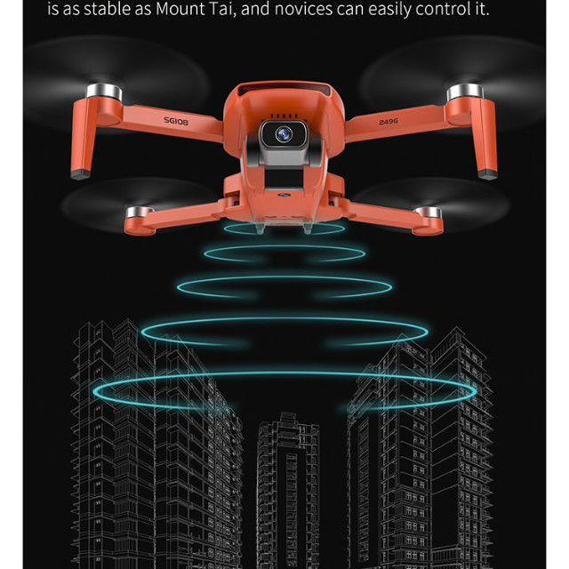 Drone SG108 com duas baterias-cor Laranja- Pronta entrega - Foto 6