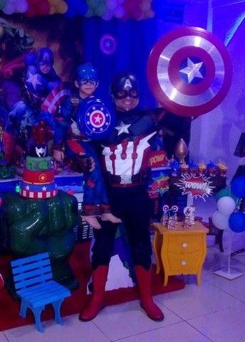 Personagem vivo Capitão América  - Foto 3