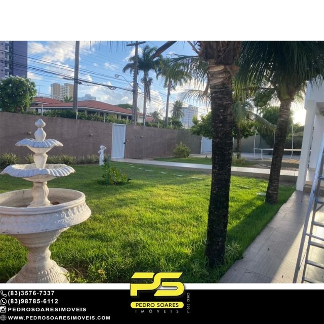 Casa com 5 dormitórios para alugar, 1.120 m² por R$ 16.000/mês - Estados - João Pessoa/PB - Foto 18