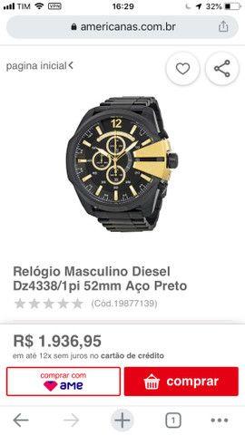 Relógio masculino diesel Dz4338 - Foto 6