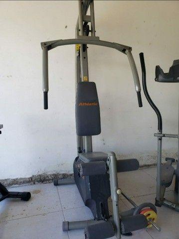 Aparelhos de musculação academia em casa - Foto 2