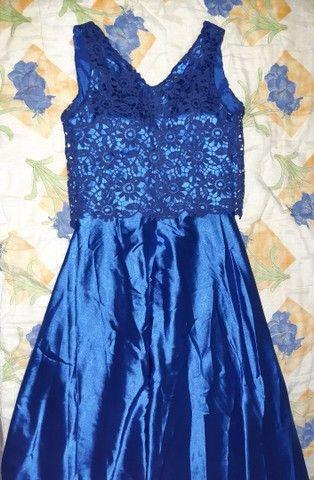 Vestido azul  - Foto 2