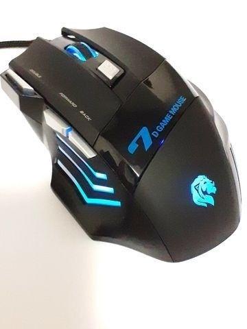Mouse Gamer Com Fio 3200DPI Hayom MU2909 - Loja Dado Digital - Foto 3