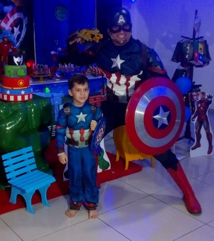 Personagem vivo Capitão América  - Foto 4