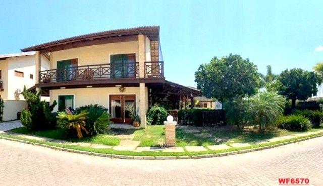 Vila Morrena, casa duplex com terreno duplo, 3 quartos, piscina, 6 vagas, Eusébio - Foto 2