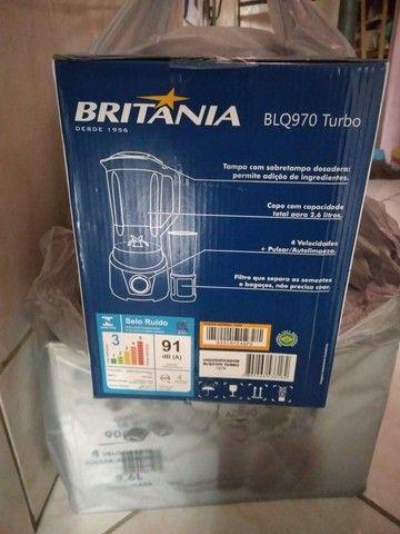 Liquidificador brittania novo na caixa com nota fiscal! - Foto 3