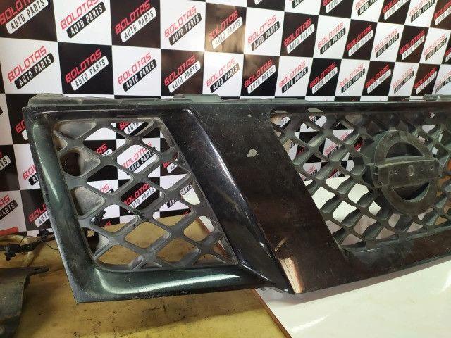 Grade Dianteira Preta Original Nissan Frontier 08/16 *COM Detalhes - Foto 2
