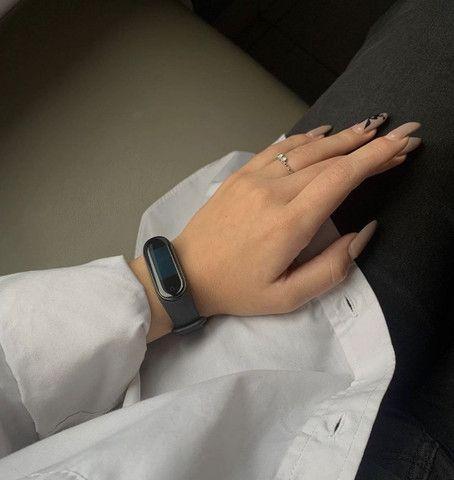 Smartband - Pulseira Inteligente M3 (Monitore Sua Saúde Pelo Seu Relógio) - Foto 4