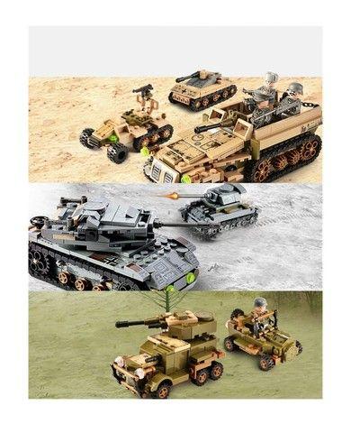 Brinquedos Blocos De Montar Diversão Infantil Lego - Foto 6