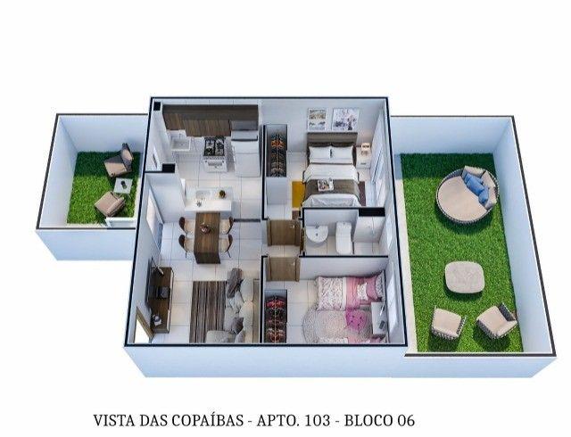 Lançamentos Apartamentos Copaíbas  - Foto 4