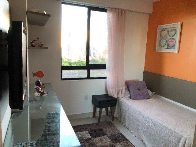 Rio Ariaú-84m²- 3 qtos s/ 1 suíte + escritório- andar intermediário-Mobiliado- Miramar - Foto 9