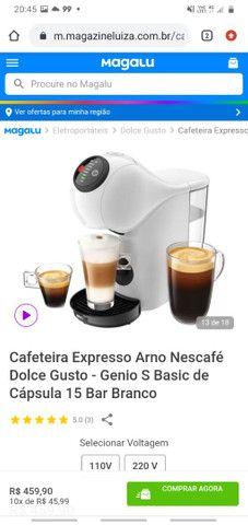 Cafeteria Expresso Arno Nescafé Dolse Gusto - Foto 5