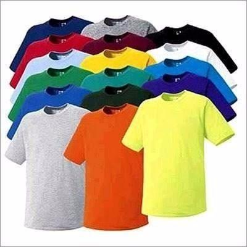 Camisetas lisas 100% poliéster